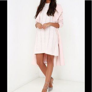 J.O.A Creme Knit Sweater Dress